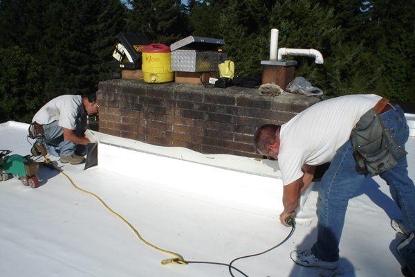 PVC Membrane Roofer