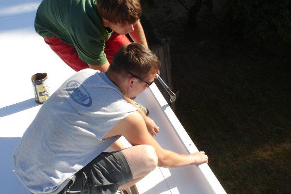 PVC Membrane Roofing Repair