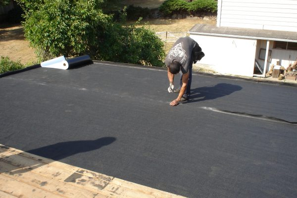 Flat Roof in Redmond