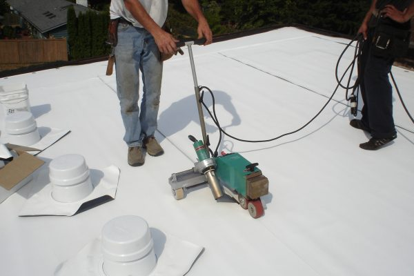 Flat Roof in Issaquah